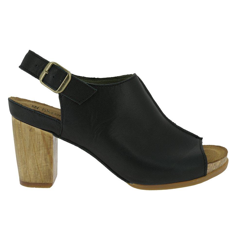 El Naturalista N5022 Women's KUNA Sandals, Ibon Black - 39