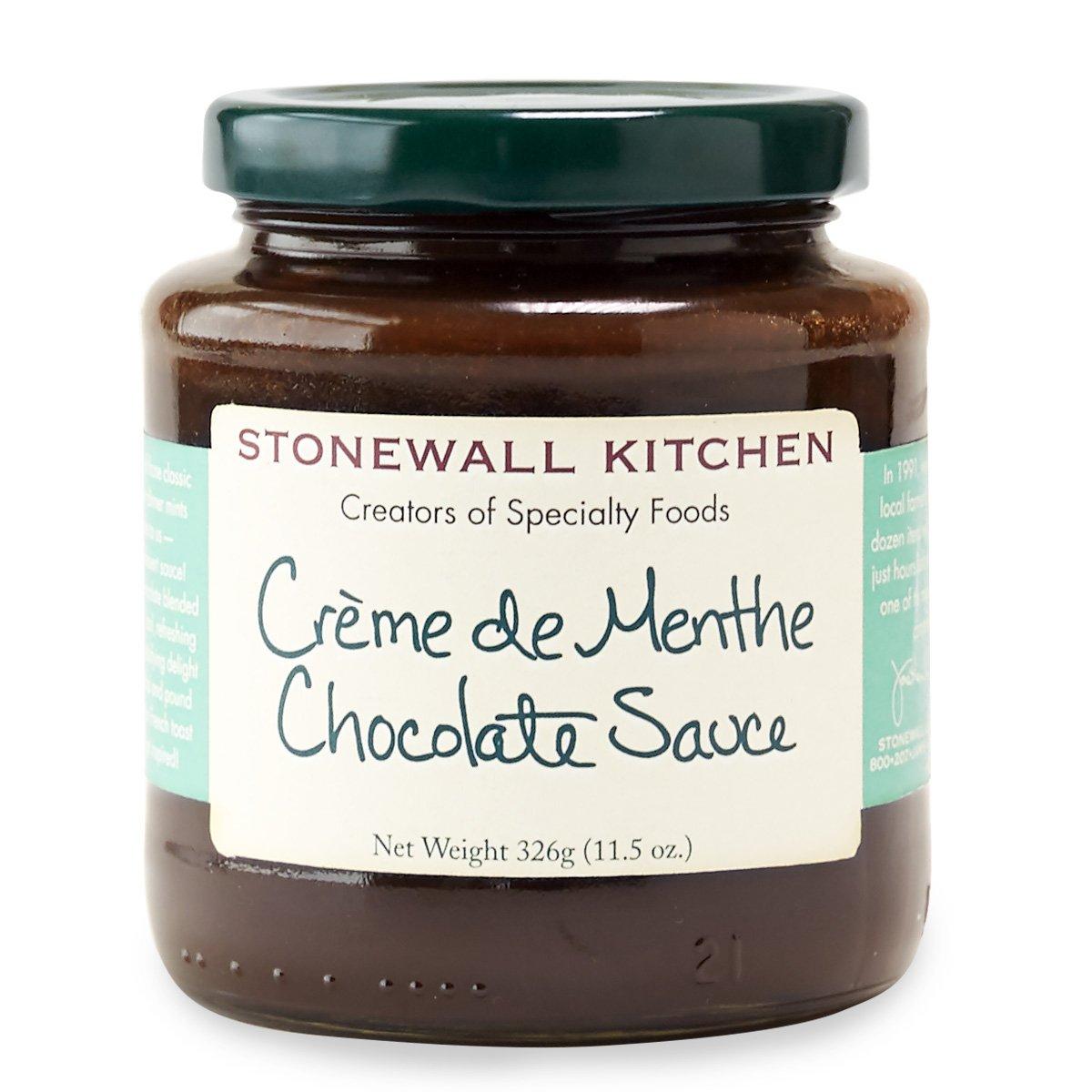 Stonewall Kitchen Creme de Menthe Chocolate Sauce, 11.5 Ounces