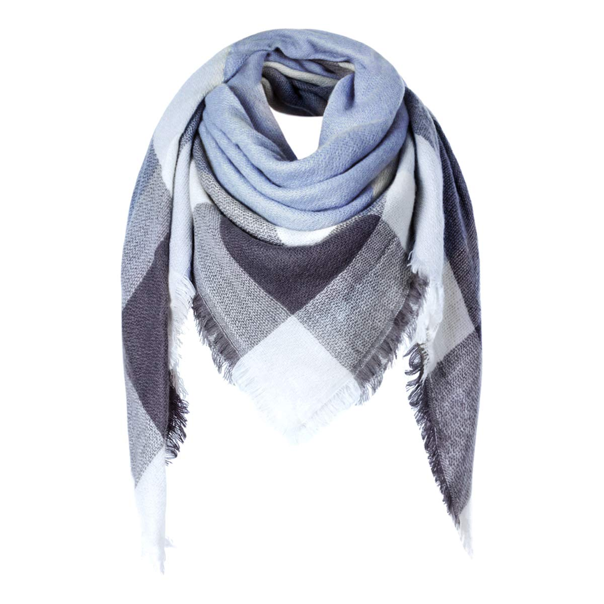 Charm Women Long Scarves Classic Lattice Pattern Scarf comfortable Warm Shawl Ladies Outdoor Accessories