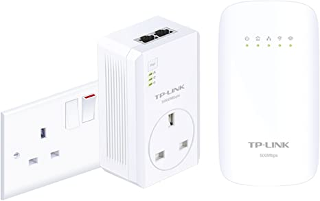 TP-LINK AV500 Powerline TL-WPA4530KIT(UK) - Adaptador de red ...