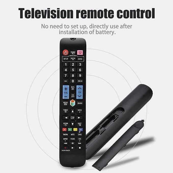 Taidda Control Remoto para Samsung, Smart TV Remote Controller Control Remoto Universal de televisión Inteligente para el Aparato de TV AA59-00652A: Amazon.es: Electrónica