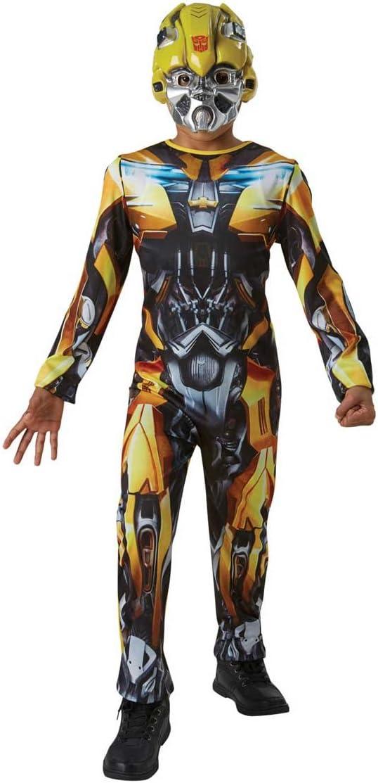 Transformers - Disfraz de Bumblee Bee oficial para niños, infantil 8-10 años (Rubie's 630991-L)