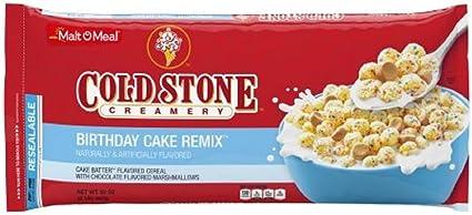 Strange Family Size Cold Stone Birthday Cake Cereal Value Size 32 Oz Bag Funny Birthday Cards Online Alyptdamsfinfo