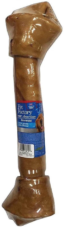 100% American Chicken-Basted Beef Rawhide Bone