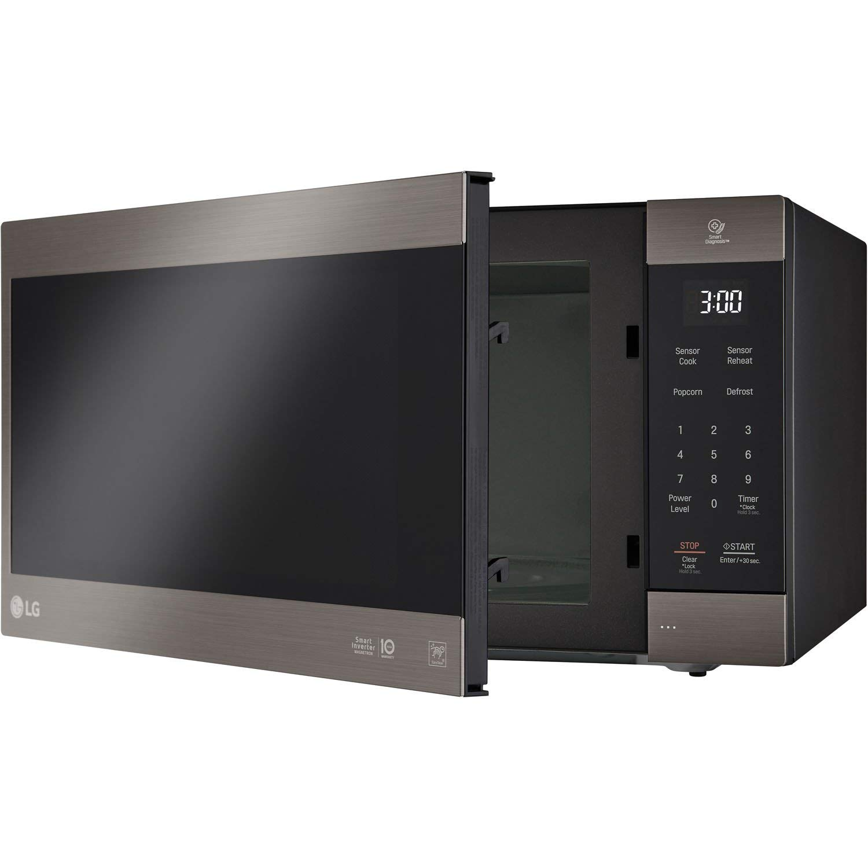 LG 2.0 Cu. Ft. NeoChef Countertop Microwave (LMC2075BD) Stainless Steel/Black (Renewed) by LG (Image #6)