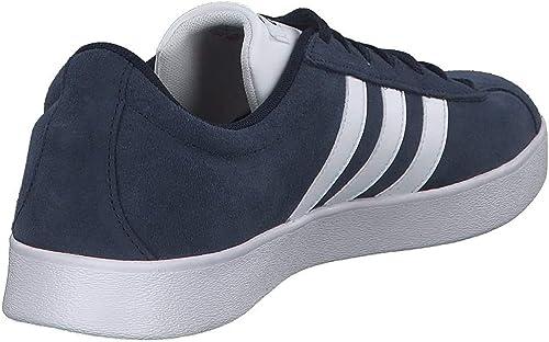 adidas Herren Vl Court 2.0 Fitnessschuhe, rot: