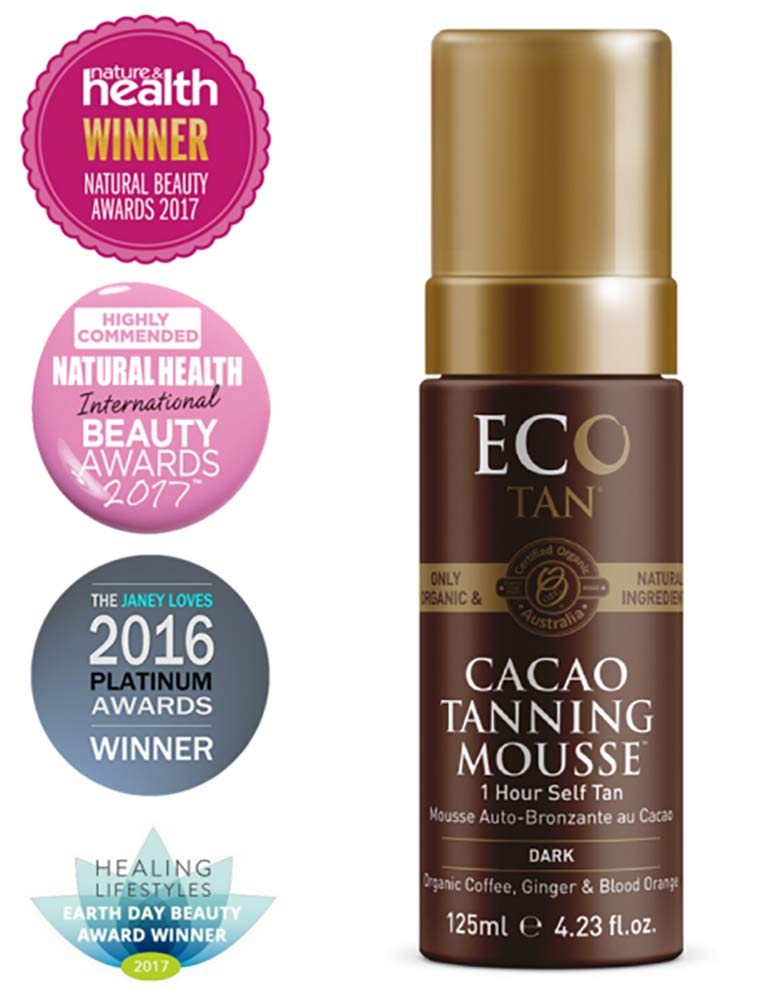 Eco Tan - Organic Cacao Self Tanning + Firming Mousse (Face + Body)