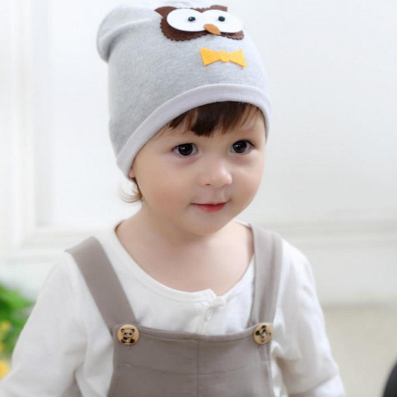 Niño pequeño búho patrón caliente crochet sombrero de punto, chica y ...