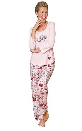 9a0ddf2399c5 PajamaGram Ladies Pajamas Sets Cotton - Lucy Women s Pajamas
