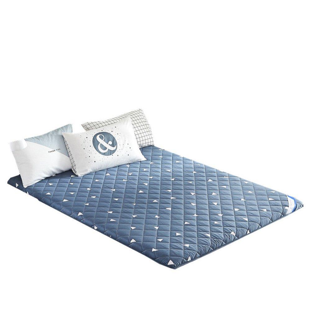 温かく快適な 日本床布団のマットレス 抗菌 折りたたみ式畳,ベッド マットレス パッド フリーサイズ ステレオ マットレス-A 180x200x6cm B07GQF3PLC A 180x200x6cm