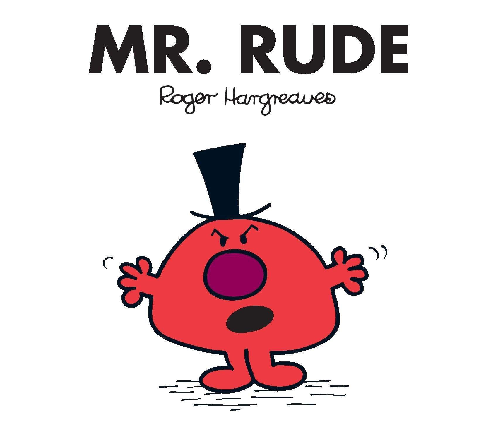 mr rude mr men and little miss roger hargreaves 9780843135695