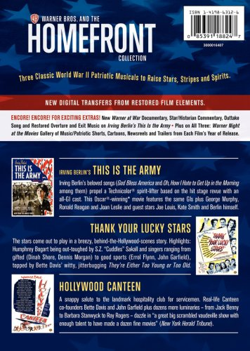 Homefront Collection (Irving Berlin's This Is the Army / Thank Your Lucky Stars / Hollywood Canteen)