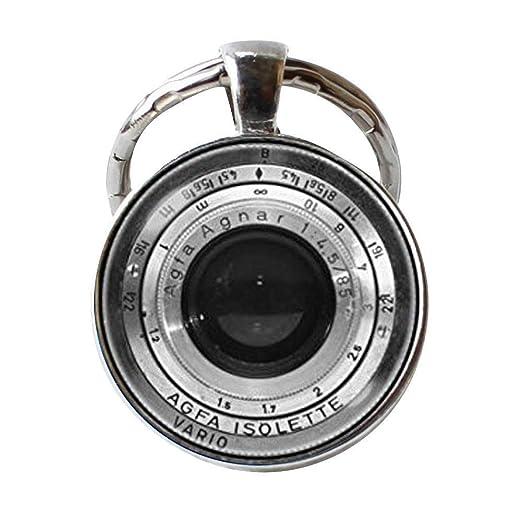 Llavero de cámara de lente, fotógrafo de regalo, lente de ...