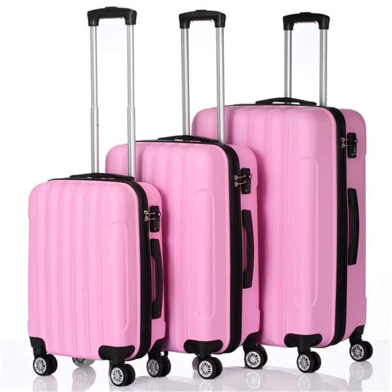 SHUTAO 3-in-1 Multifunctional Large Capacity Traveling Storage Suitcase Pink