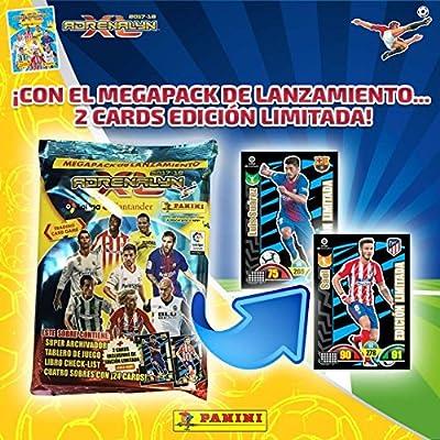 ADRENALYN 2017/2018 MEGA PACK LANZAMIENTO ALBUM +4 SOBRES SORPRESA!! COLECCIÓNALOS!!: Amazon.es: Juguetes y juegos