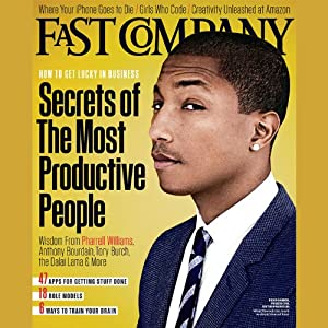 Audible Fast Company, December/January 2013 Periodical