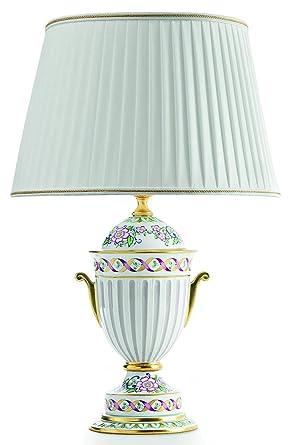 Le Porcellane Limoges - Lámpara de mesa de porcelana E27 ...