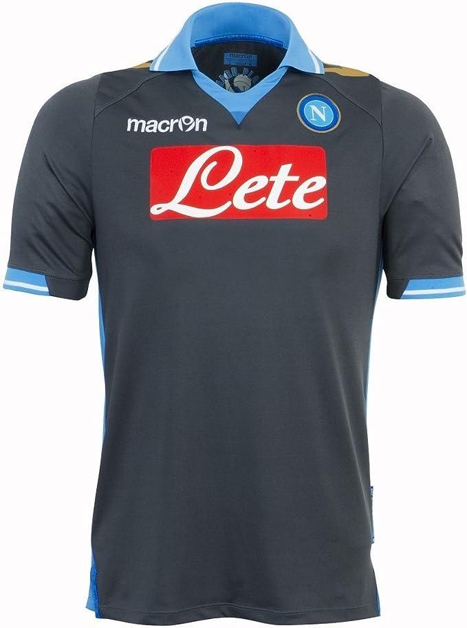 2011 12 Napoli Champions League Away Shirt Amazon It Abbigliamento