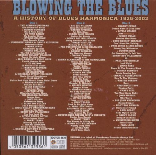 Blowing the Blues: History of Blues Harmonica by Indigo UK