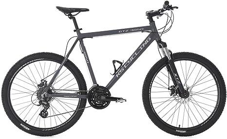 KS Cycling - Bicicleta de montaña Hardtail GTZ, Antracita, 26 ...
