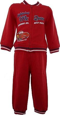 bbc4867dc Boys Disney Cars Lightning McQueen Tracksuit / Jogging Suit Red-23 Months /  86 cm: Amazon.co.uk: Clothing