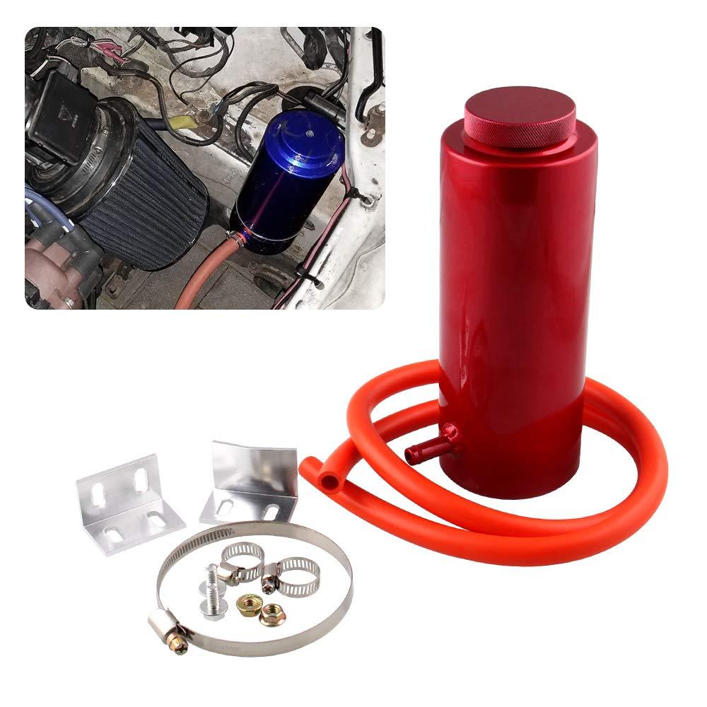 Ryanstar 800ml Car Radiator Coolant Overflow Oil Catch Tank Cooling Catch Bottle Overflow Reservoir Heatsinks Aluminum Billet(red) Ruian Kylin Import&Export Co. Ltd
