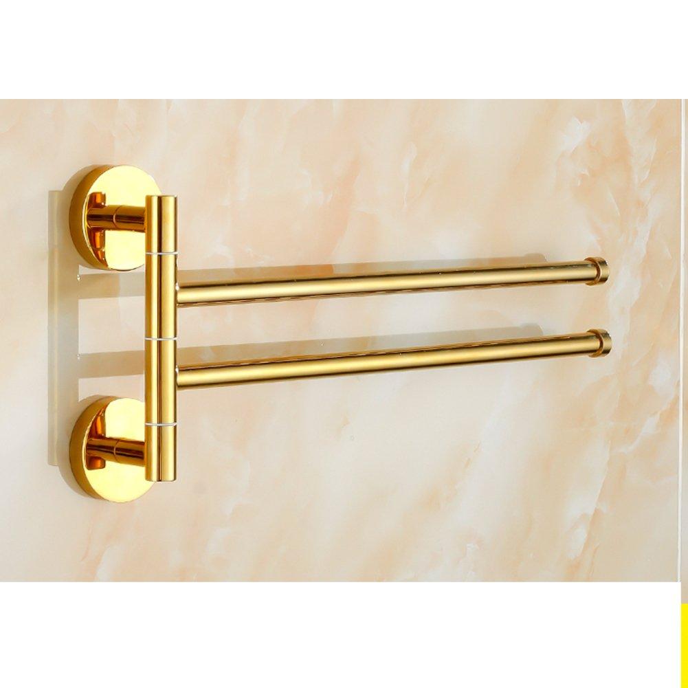 80%OFF Brass Towel rack real heart activity/rotary-towel rod/Bathroom Bathroom Towel Bar-E