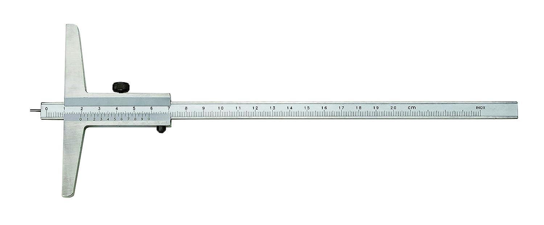 CNC Calidad profundos de calibre Vernier con doble gancho//–/Rango de medici/ón 300/mm//–/Topogr/áfica 0,02/mm//–/umsteckbare Barra//–/Din 862