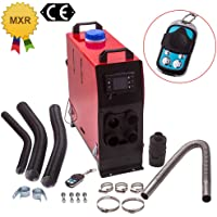 maXpeedingrods 12V 5KW Air Diesel Heater LCD Switch & Remote Control 4 Holes for Caravan Trucks Campers Boat