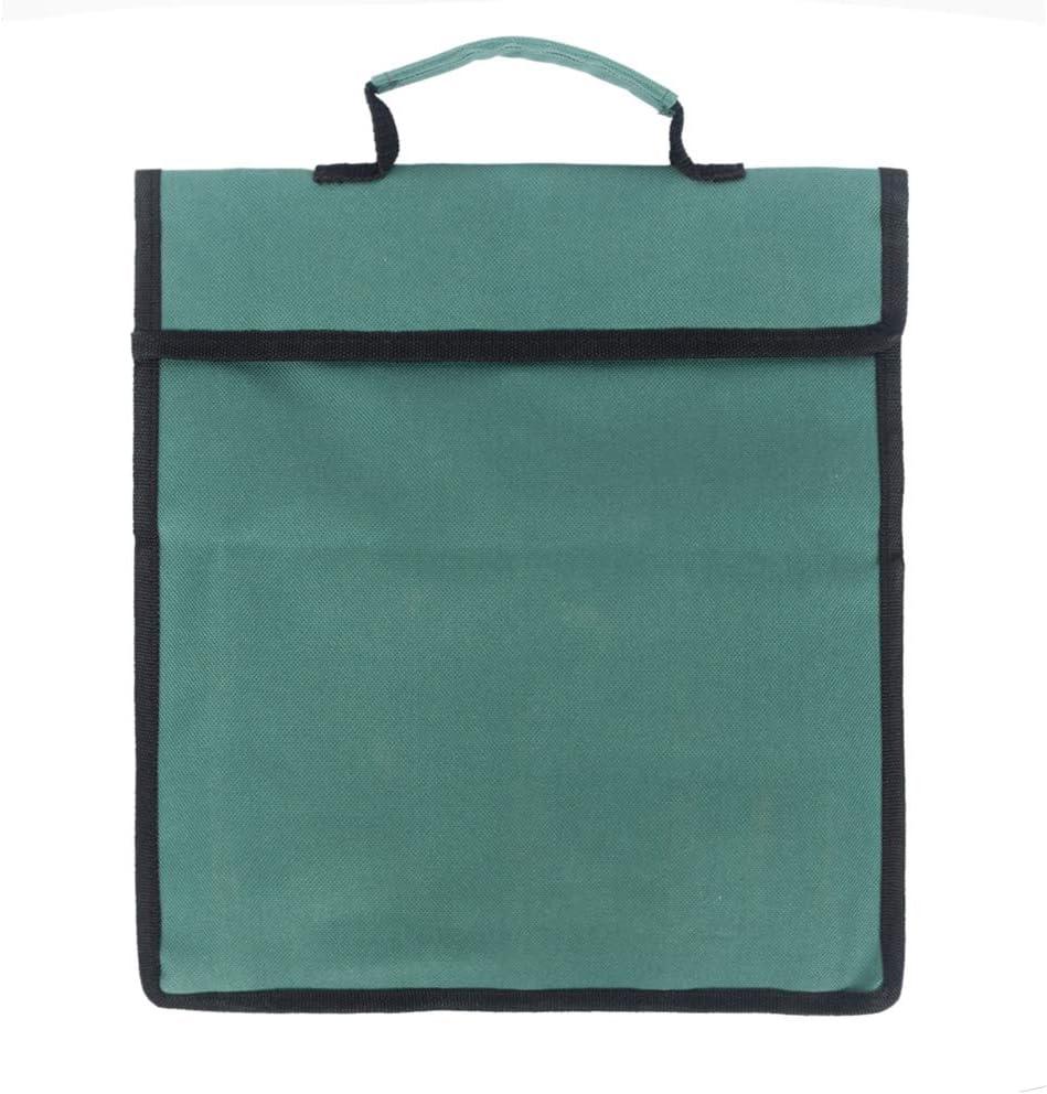 Sarplle Garten Werkzeugtaschen aus 600D Oxford Tragbar Gartenwerkzeug Aufbewahrungstasche mit mehrere Taschen 0,5 cm 30 19