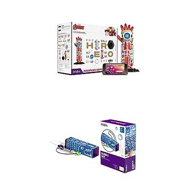 littleBits Marvel Avengers Hero Inventor Kit & littleBits Hall of Fame Bubble Bot Starter Kit: Toys & Games