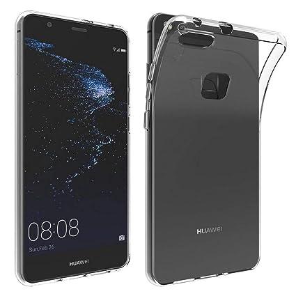 XTCASE Funda Huawei P10 Lite Silicona Transparente, Ultrafina Suave TPU Carcasa para Huawei P10 Lite Delgado Flexible Protectora Case Cover ...