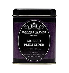 Harney and Sons Mulled Plum Cider Tea, 4 Ounce