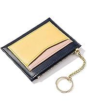 Zip Coin Purse Mini Wallet Portable Card Holder Keychain