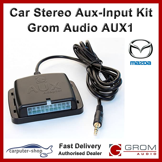 Grom Audio Aux1 Aux Eingang Auxiliary Adapter Interface Elektronik