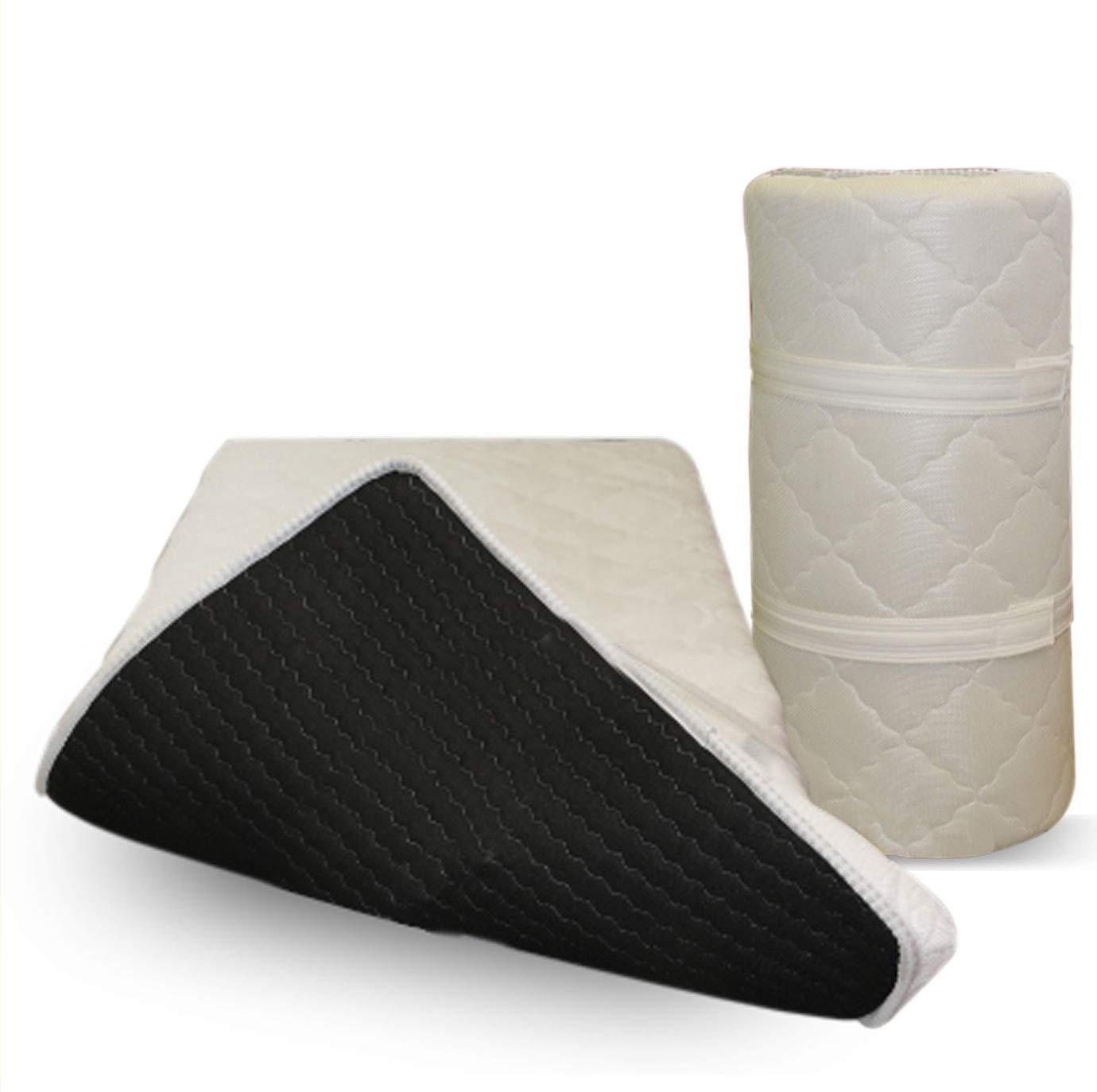 EVERGREENWEB MATERASSI & BEDS Green Topper Latex H5 cm correttore di rigidità ergonomico in Lattice Matrimoniale 180×200 Prezzi offerte