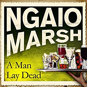 A Man Lay Dead Audiobook