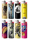 BIC Special Edition Millennial Series Lighters, Set of 8 Lighters