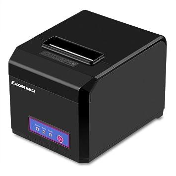 Bluetooth Negro 80 mm Auto-Cut impresora térmica para recibos EU ...