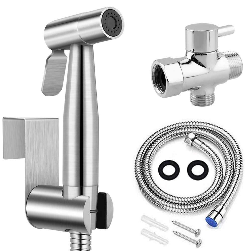 Premium Stainless Steel Bathroom Handheld Bidet Toilet Hygiene Sprayer