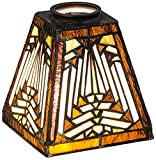 Meyda Tiffany 65910 Nuevo Mission Lamp Shade - 5 sq. in.