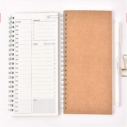 2019 2020 Planner Diary Cuadernos espirales semanales ...