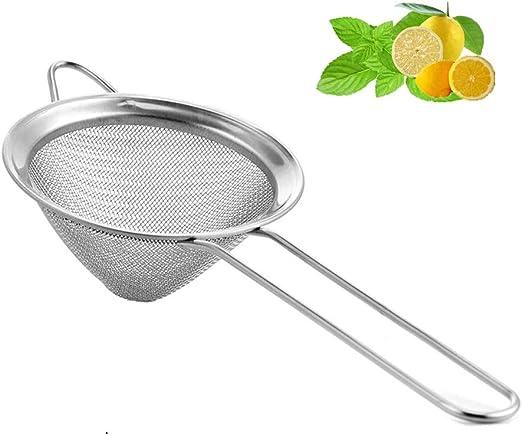 Metal Tea Sieve Strainer for Kitchen NEW Diameter 3.5 Inches 9cm