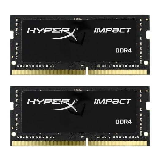 2 opinioni per HyperX HX426S15IB2K2/32 Impact Memoria RAM, 2666 MHz, DDR4, CL15 SODIMM, 32 GB,