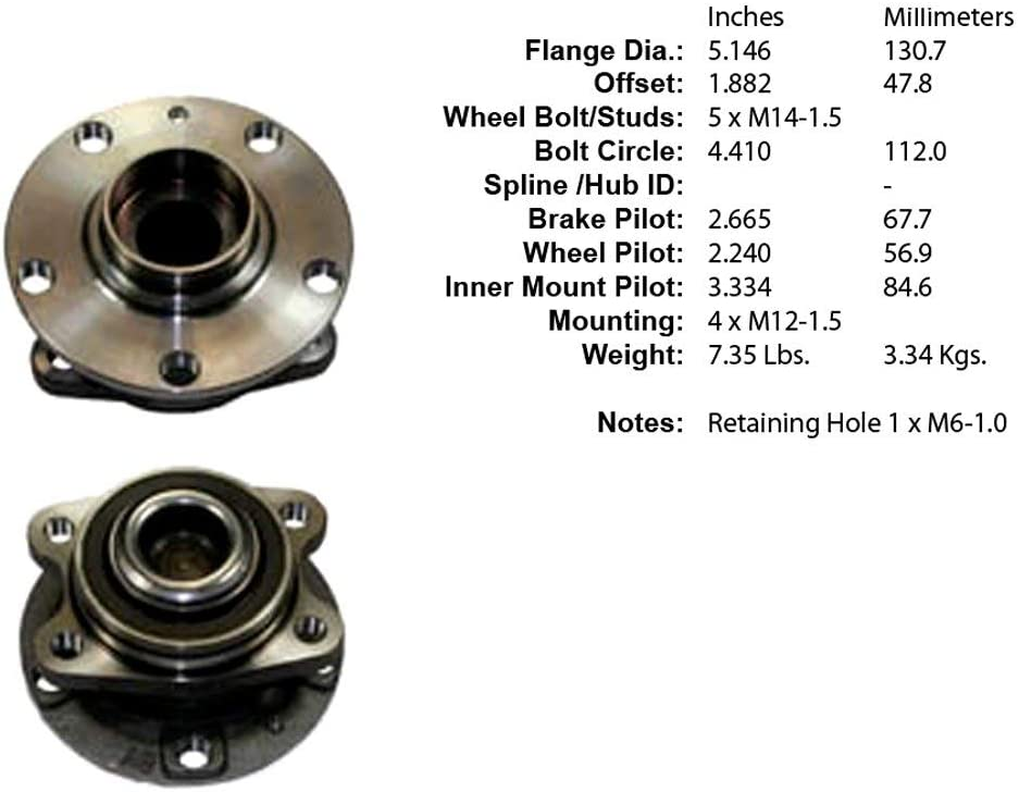Wheel Hub Assembly Centric 406.42004