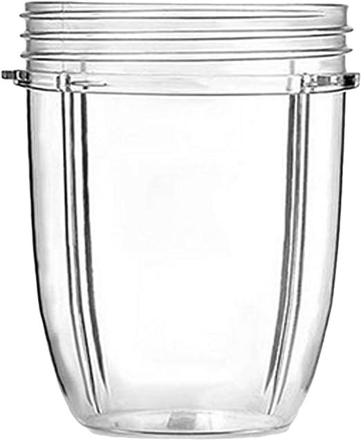 Vaso pequeño de 18 onzas compatible con Nutribullet, tazas ...