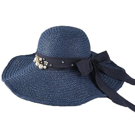 XIAOYAN Cappelli Cappellino estivo da donna pieghevole Cappellino da  esterno Cappellino da esterno Anti-UV 46d9eb1a4cd8