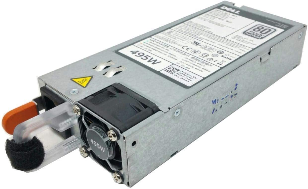 Dell PowerEdge T320 T420 T620 R620 R720 Server Power Supply 495W N24MJ