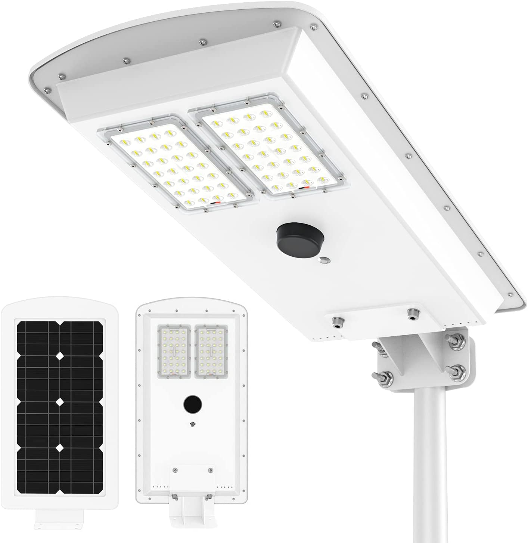 36 LED Solar Power Wall Street PIR Motion Sensor Garden Yard Light Lamp USA
