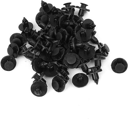 des trous de fixation de 8 mm de rivets plastique de voitures push-porte 100 noi